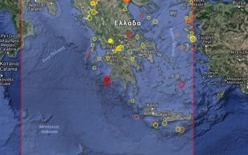 Σεισμός 4,6 ρίχτερ δυτικά της Πύλου