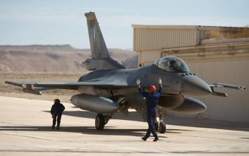 Η ισραηλινή Αεροπορία έδωσε την «αρχηγία» στην ελληνική σε άσκηση αιχμής