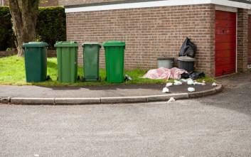 Τους έδιωξε από το σπίτι τους γιατί πετούσαν τις πάνες των μωρών στα σκουπίδια της