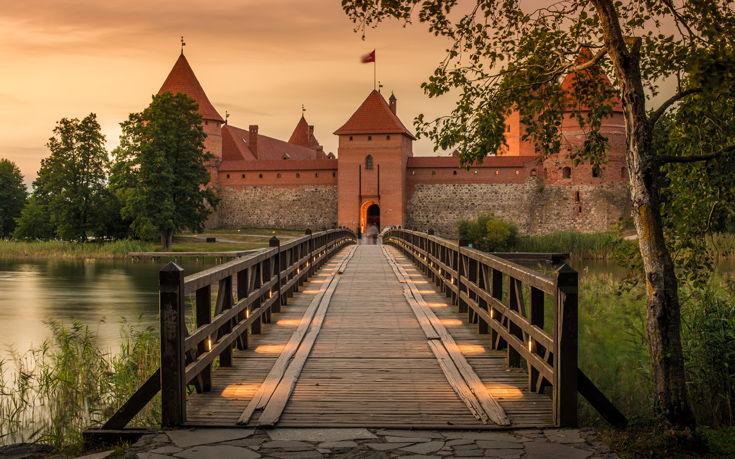Λιθουανία - Το μεσαιωνικό νησί της