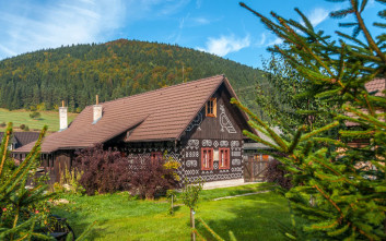 Το δαντελένιο χωριό στη Σλοβακία