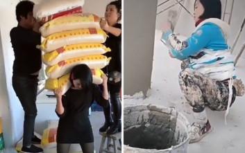 Γυναίκες στην οικοδομή