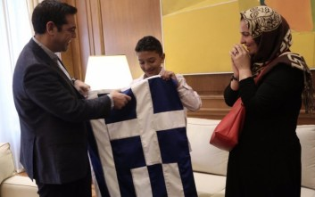Νίκος Παππάς για Αμίρ: Στην οφείλαμε τούτη τη σημαία, αγόρι μου