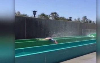 Τρομακτικός τραυματισμός 10χρονου σε πάρκο με νεροτσουλήθρες