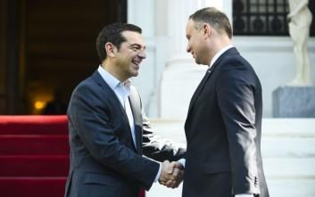 Διπλωματικές και εμπορικές σχέσεις στη συνάντηση Τσίπρα-Ντούντα