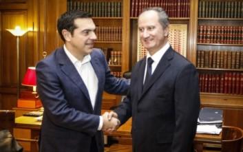 Οι εξελίξεις στο Κυπριακό στο επίκεντρο της συνάντησης Τσίπρα-Μαλά
