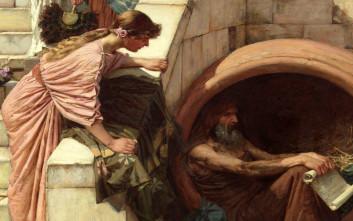 Η φάρσα που έστησε η ομορφότερη πόρνη των αρχαίων χρόνων στο φιλόσοφο Διογένη