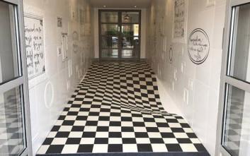 Το πάτωμα που σε κάνει να μην τρέχεις