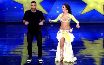 Τανιμανίδης σε χορεύτρια οριεντάλ: «Έχεις τα καλύτερα αμορτισέρ»