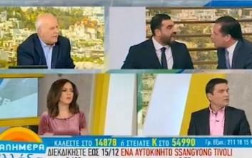 Άγριος καβγάς Άδωνι - Κωνσταντινέα στην εκπομπή του Παπαδάκη