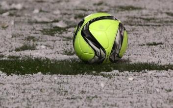 Το χιόνι κάνει αμφίβολη τη διεξαγωγή του Λαμία-Παναθηναϊκός