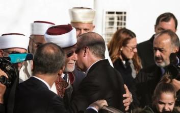 Τους ψευδομουφτήδες της Κομοτηνής και της Ξάνθης ασπάστηκε ο Ερντογάν
