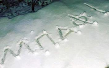 Έπεσαν χιόνια στην Πάρνηθα