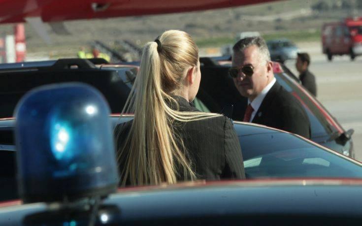 Η πανέμορφη Αστυνομικός από τη Φθιώτιδα στην Ασφάλεια του Ερντογάν στην Αθήνα