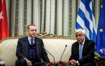 Παυλόπουλος σε Ερντογάν: Η συνθήκη της Λωζάνης ισχύει ως έχει, δεν θέλει επικαιροποίηση
