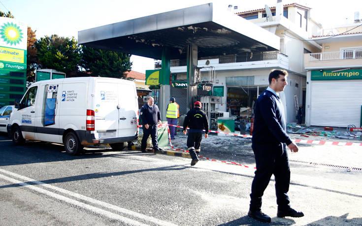 Το τμήμα εκβιαστών ανέλαβε την υπόθεση με την έκρηξη στο βενζινάδικο στην Ανάβυσσο