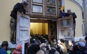 Κατάληψη σε συναυλιακό χώρο στο Κίεβο επιχείρησε ο Σαακασβίλι μαζί με υποστηρικτές του