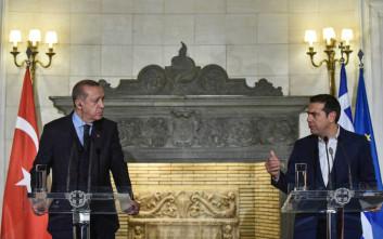 Σήμερα το τετ-α-τετ Τσίπρα Ερντογάν στο περιθώριο της συνόδου του ΝΑΤΟ