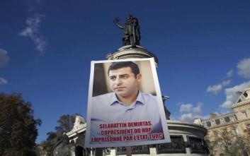 Ξεκινά η δίκη του ηγέτη του φιλοκουρδικού HDP, Σελαχατίν Ντεμιρτάς