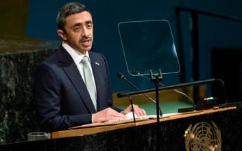 Υπουργός Εξωτερικών των Η.Α.Ε. για τον Ερντογάν: Οι πρόγονοί του ήταν κλέφτες