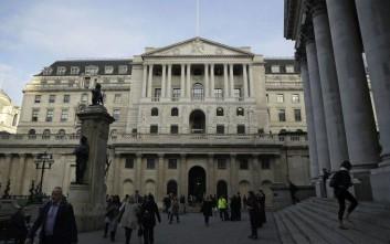 Ιστορική συρρίκνωση του ΑΕΠ προβλέπει η Τράπεζα της Αγγλίας