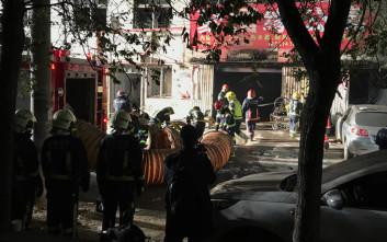 Πέντε νεκροί στο Πεκίνο από φωτιά σε χώρο όπου φορτίζονταν ηλεκτρικά ποδήλατα