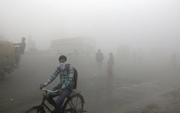 Τεράστιο «πιστολάκι» κατά του νέφους στο Νέο Δελχί