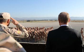 Συρία ρώσοι στρατιώτες Πούτιν