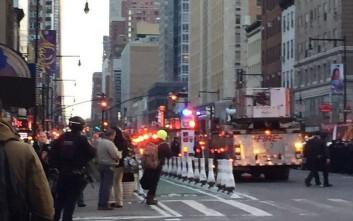 Συναγερμός για έκρηξη στη Νέα Υόρκη