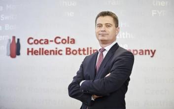 Ο νέος Διευθύνων Συμβούλος της Coca-Cola HBC