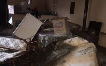 Τεράστιες καταστροφές έξω από το Αγρίνιο από τις πλημμύρες
