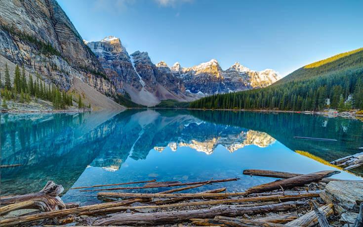 Μαγευτικά αλπικά τοπία στα καναδικά Βραχώδη Όρη