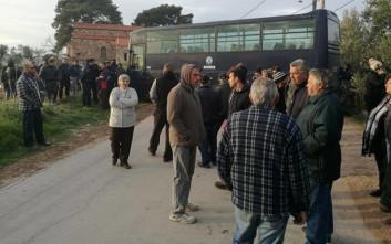 Σταμάτησε η μεταφορά οικίσκων στη ΒΙΑΛ της Χίου