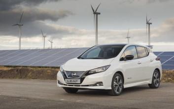 Το νέο Nissan Leaf μπήκε στην παραγωγή