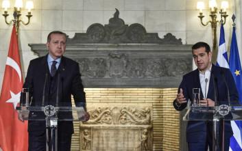 H ατάκα Ερντογάν για το νεαρό της ηλικίας του Τσίπρα και το Κυπριακό