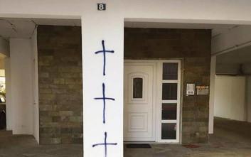 Άγνωστοι ζωγράφισαν σταυρούς σε σπίτια μουσουλμάνων στην Κομοτηνή και την Ξάνθη