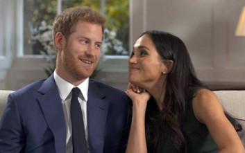 Κέρδη 500 εκατ. λίρες από τον γάμο του πρίγκιπα Χάρι με τη Μέγκαν Μαρκλ