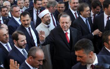 Ερντογάν στη Θράκη: Στο ελληνικό κοινοβούλιο έχουμε τέσσερις βουλευτές μας