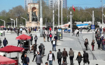 Η Άγκυρα απαγορεύει τις συγκεντρώσεις την Πρωτοχρονιά στην πλατεία Ταξίμ