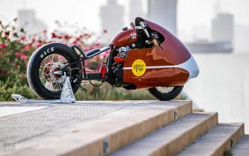 Το πιο γρήγορο (πρώην) pizza-bike, από την VR Customs