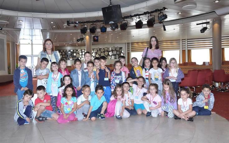 Επίσκεψη 22ου Νηπιαγωγείου Ρόδου στο Celestyal Olympia (Μάιος 2017)