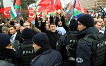 Χιλιάδες άνθρωποι στους δρόμους σε Τουρκία και Ιράν για την Ιερουσαλήμ