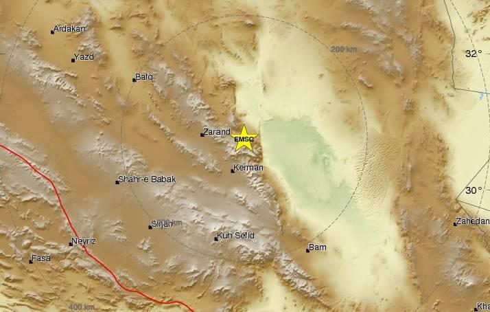 Ισχυρός σεισμός 5,9 Ρίχτερ στο Ιράν