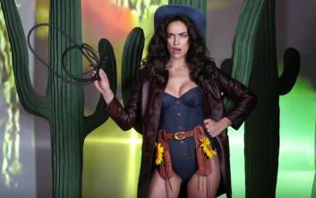 Το σέξι cowgirl Irina Shayk
