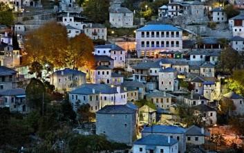 Γραφικά χωριά για μαγικά Χριστούγεννα στο βουνό
