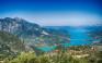 Βόλτα στη μεγαλύτερη τεχνητή λίμνη της Ελλάδας