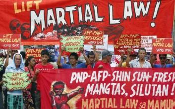 Στρατιωτικός νόμος για ακόμα έναν χρόνο στο νησί Μιντανάο των Φιλιππίνων