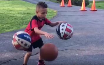Το μελλοντικό αστέρι του μπάσκετ είναι μόλις 7 χρόνων