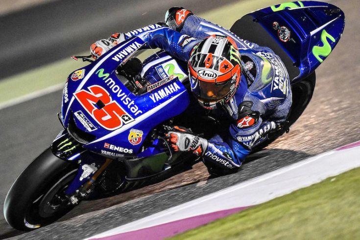 Maverick VINALES SPA  Movistar Yamaha MotoGP  YAMAHA MotoGP    Test Qatar 2017 (Circuit Losail) 10-12/03.2017   PSP/ Lukasz Swiderek  www.photoPSP.com