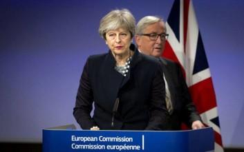 Χωρίς τελική συμφωνία η συνάντηση Γιούνκερ-Μέι για το Brexit